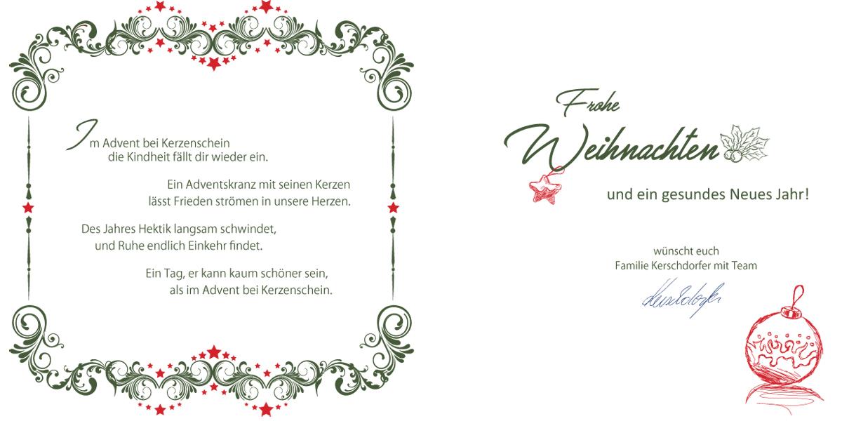 text f r weihnachtskarten privat firmen weihnachtskarten. Black Bedroom Furniture Sets. Home Design Ideas